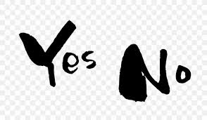 yes no maybe ink brush desktop