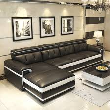 modern leather sofa leather simple