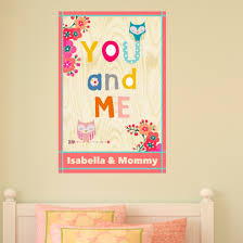 Zoomie Kids Me And You Personalized Wall Decal Wayfair
