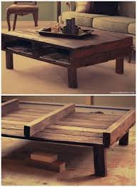 pallet coffee table plans ideas