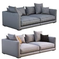 poliform sofa bristol 3d model