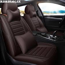 whole leather car seat cover for