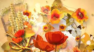 fall flowers wallpaper 27 cool