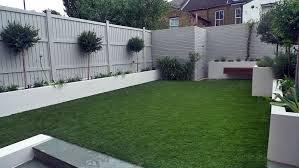 Artificial Grass Easi Grass Grey Painted Fences Modern Garden Design Fulham Chelsea Kensington Mayfair Westminster Docklands London London Garden Blog