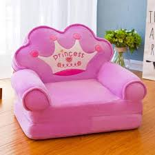 Amazon Com Mo Su Kids Recliner Fold Sofa Stool Cartoon Sofa Bed Boy Girl Small Sofa Chair For Kids Room Decoration Gift B Furniture Decor