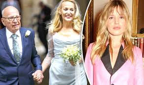 Jerry Hall 'very happy' in her marriage to Rupert Murdoch, Georgia ...
