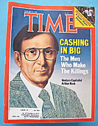 Time Magazine-January 23, 1984-Arthur Rock (Time) at A Date In Time
