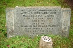 Olive Ada Thompson Lavis (1910-1985) - Find A Grave Memorial