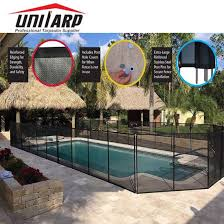 China 15ft Durable Removable Safety Pool Barrier Fence Life Saver Pool Corral China Life Saver Pool Corral Safety Pool Barrier Fence