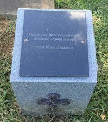 Frank Newton Acker, Jr (1953-2015) - Find A Grave Memorial