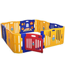 Lazymoon Baby Playpen Kids 8 4 Panel Safety Play Center Yard Home Indoor Outdoor Fence Review Baby Playpen Baby Play Yard Toddler Playpen