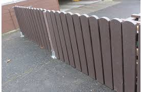 Heavy Duty Picket Fence Marmax Recycled Plastic Products