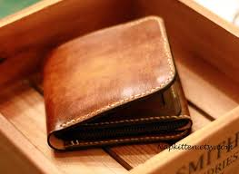 free leather coin purse pattern mount