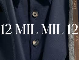 wool 12 mil mil 12 clothing for men zegna