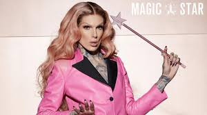 jeffree star appeared with a scary