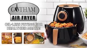 gotham steel air fryer cooking food
