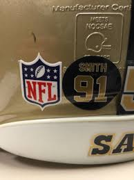 New Orleans Saints Pa Twitter New Helmet Decal To Honor The Late Great Will Smith This Season Saints