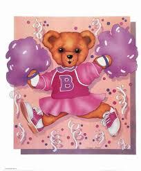 Ballerina Teddy Bear Pink Dress Toy Posters