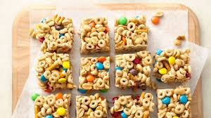 no bake sweet and salty cereal bars