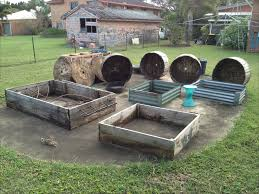 putting raised garden beds on concrete