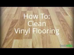 how to clean vinyl flooring you