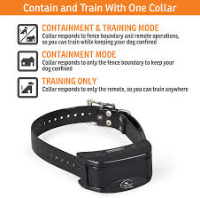 Sportdog Brand Contain Train System In Ground Fence Kit With Remote Trainer Waterproof Rechargeable Collar With Tone Vibrate And Shock Expandable To Multiple Dogs Amazon Ca Pet Supplies