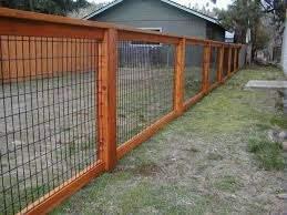 Inexpensive Fence Ideas Backyard Fences Fence Design Cheap Fence