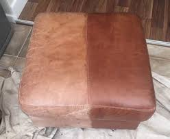 leather furniture re dye service the