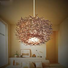 rattan natural quality large pendant lights