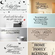 A Smileq Lovely Quotes Wall Stickers Think Positive Removable Decal Art Vinyl Mural Home Room Decor