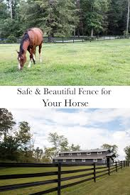 A Closer Look At Ramm S Flex Fence Stable Style