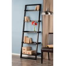 winsome wood 29525 black 5 tier bailey