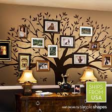 Tree Wall Decal Family Tree Wall Decal Sticker Living Room Etsy
