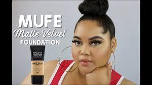 mufe matte velvet skin full coverage