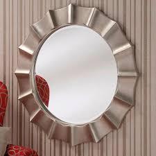 contemporary wall mirror beveled