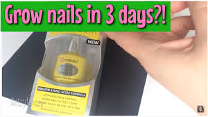 grow nails in 3 days 3 day growth