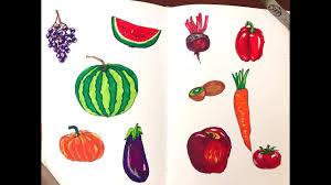 Vẽ & tô màu trái cây củ quả cho bé - Mature Gamer Podcast