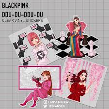 Blackpink Kpop Vinyl Sticker