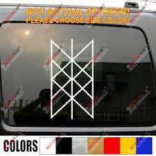 Web Of Wyrd Decal Sticker Skuld S Net Viking Matrix Of Fate Car Vinyl Norse Odin Ebay