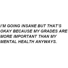 life myself quotes health grades hate school thoughts crazy high