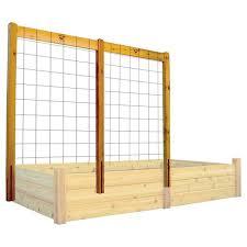 80 raised garden bed trellis kit