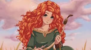 Brave Anime | Tranh vẽ disney, Nhân vật của disney