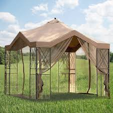 gazebo replacement canopy and netting