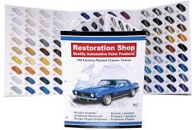 144 auto paint color chart chips