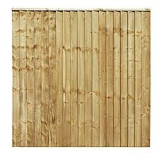 Total Sheds 6x6 1 83m X 1 83m 6ft X 6ft Feather Edge Featheredge Heavy Duty Close Board Fence Panels Amazon Co Uk Garden Outdoors
