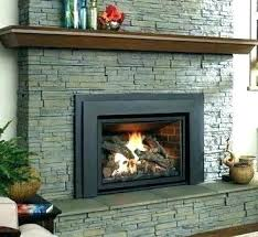 converting wood fireplace to gas