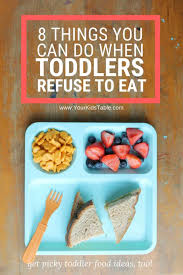 toddler refuses to eat