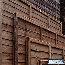 Weatherwell Lap Wooden Fence Panels 3ft 4ft 5ft 6ft Horizontal Pressure Treated 6ft X 4ft Amazon Co Uk Diy Tools