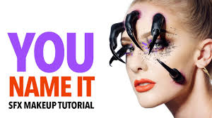 you name it special fx makeup tutorial