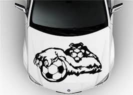 Hood Auto Car Vinyl Decal Stickers Sport Puma Soccer Football Barcelona 6810 Car Decals Vinyl Vinyl Decals Vinyl Decal Stickers